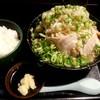 無鉄砲しゃばとん - 料理写真:豚そば野菜多め+ライス中