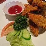 スリランカふくおか - 単品メニューから魚のフライ