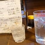 吾作 - 2018年7月 芋焼酎ロック