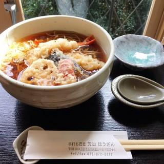 芳汕 - 天ぷら蕎麦 1160円