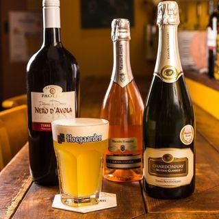 *グラスで気ままにほろ酔い気分*充実ワイン&極旨ビール!