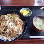 麦の宿 - 料理写真:二重カツ丼