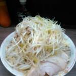 93814812 - ネギ小ラーメンヤサイマシマシニンニクアレ