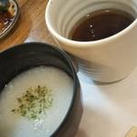 湯浅 - 卵白鳥スープ