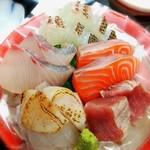 お料理 御厨 - 鮮度抜群の鮮魚お造里定食(夜定食)