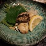 居酒屋五円 - アワビのバター焼き