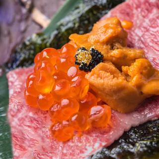 うにと和牛!新時代の焼肉!割烹の伝統と焼肉が織りなす世界