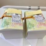甘座洋菓子店 - レアチーズとピラミッド