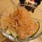 KOYOI 炭火焼と旬菜 - 梅水晶
