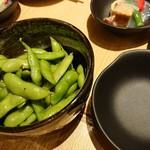 KOYOI 炭火焼と旬菜 - 枝豆