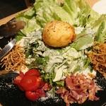 KOYOI 炭火焼と旬菜 - シーザーサラダ