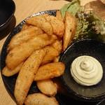 KOYOI 炭火焼と旬菜 - ポテトフライ
