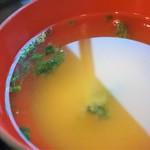 ととすけ - 味噌汁(まぐろトロ三昧定食)