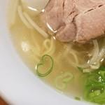 麺屋 菜々兵衛 - 夜塩スープ