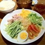 香園 - 冷麺セット