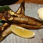 ゴチヤ - 柳葉魚の燻製