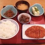 93824417 - 四品定食(一例)777円