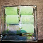 徳重離宮 - 料理写真:お誕生日サービスの抹茶アイス