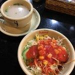 93825761 - サラダ、スープ