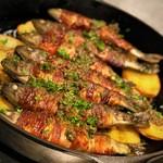 カ'ジーノ - 川魚・パンチェッタ・ジャガイモのオーナー