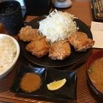 から好し - 料理写真:から好し定食〜( ^ω.^ )/¥590円.。.:*☆