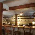 スヌスカフェ - 店内カウンター
