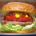 どぶ板食堂 Perry - 料理写真:ヨコスカネイビーバーガー(レギュラーサイズ・227g)