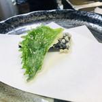 天ぷら はせ川 - 大葉