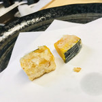 天ぷら はせ川 - かぼちゃ