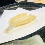 天ぷら はせ川 - キス
