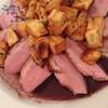キャフェ・ドゥ・ブローニュ - 料理写真:『合鴨のロースト 赤ワインソース』