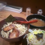 イツワ製麺所食堂 - イツワつけ麺