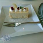 カフェ プラド - 洋梨のムース