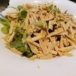 レ・ピコロ - フォアグラコンフィのサラダ