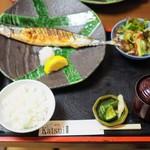 くずし割烹katsui - 焼魚定食1280円(税込)
