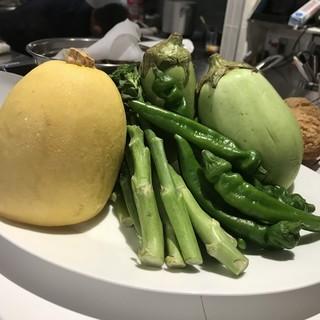 こだわり抜いた新鮮野菜!!野菜の濃い味が楽しめます。