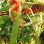9384015 - 咲咲サラダ。刺身やイクラ入り。結構なボリュームでっす。