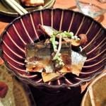 豆家茶寮 - 秋刀魚の甘露煮