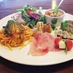 カフェ ド ラパン - ディナー:魚ワンプレート1,500円