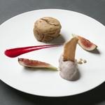 BISTRO INOCCHI - フォンダンマロン 小豆アイス