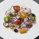 BISTRO INOCCHI - タコと彩り野菜のマリネ