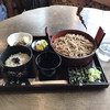 やぶ - 料理写真:ざるそば定食