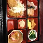 旬菜‐小豆 - 小豆弁当 850円 ご飯と味噌汁付き