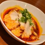 旨唐揚げと居酒メシ ミライザカ - 清流よだれ鶏(499円+税)2018年9月