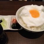 麺処ガンテツ - たまごかけごはん