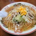 ら~めん一歩 - 料理写真:2018年10月 野菜ラーメン