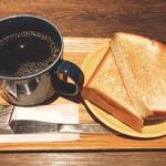 シアトルズ ベスト コーヒー - トーストセット320円(^^)