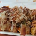 ローザ - 料理写真:明石風たこ焼きソース