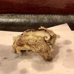 てんぷら天朝 - 椎茸