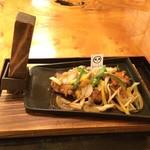 ばっきゃ - 料理写真:八幡平ポークカツ御狩場焼き